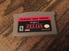Legend Of Zelda Classic NES Series Nintendo Gameboy Advance GBA Cart