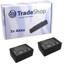 2x AKKU für Panasonic DMC-FZ150 DMC-FZ-150 DMC-FZ150 DMW-BMB9 DMW-BMB-9