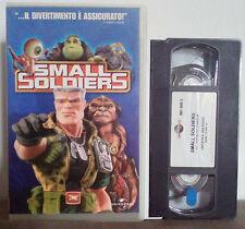 VHS FILM Cartoni Animati SMALL SOLDIERS universal dreamworks no dvd(VHS9)