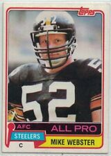1981 Topps Football Cards (1-528) - Pick The Cards to Complete Your Set