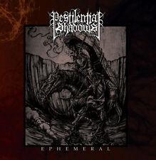 PESTILENTIAL SHADOWS - EPHEMERAL CD - NEW album Black Metal, Blackmetal, Occult