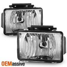 Fit 2004-2012 Chevy Colorado GMC Canyon Pickup Clear Bumper Fog Lights Lamp Pair