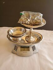Vintage Sterling Silver Lot for scrap  3.7 pounds 1574 grams jewelry & trays