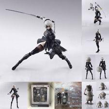 "6"" NieR:Automata 2B Action Figure Bring Arts YoRHa No.2 Type B Model Toy In Box"