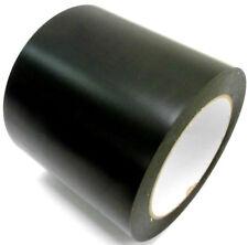 Pvc Cinta adhesiva negro mate 100mm x 33m de protección marcado Floor tape