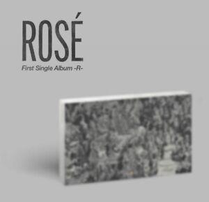 ROSE FIRST SINGLE ALBUM -R- [BLACKPINK] - KPOP SEALED+PREORDER BENEFITS+TRACKING