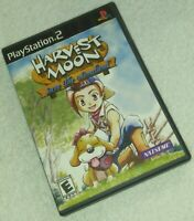 Harvest Moon Save The Homeland PS2 Playstation 2 Black label complete