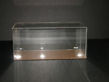 "DISPLAY CASE  PLEXIGLAS  WIDE WITH SLIDING ENTRY DOOR 11 7/8"" L X 5"" W X 5 1/8""H"