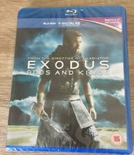EXODUS GODS AND KINGS [2014] [Region Free] (Blu-ray) BNIW NEW SEALED GIFT