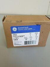 GE THQL2130GFI 30A 120/240V Self-Testing 2-Pole GFCI Plug-In Circuit Breaker