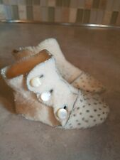 1920s Antique Child's Slippers High Button Boots Habdmade Edwardian/Victorian