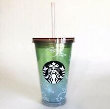 Starbucks 2019 LE Easter Bunny Rabbit Rainbow Spring Cold Cup Tumbler 16oz