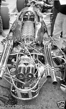 DAN GURNEY EAGLE T1G F1 WESLAKE ENGINE PHOTOGRAPH at MONACO GRAND PRIX 1967