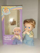 MATTHEW BLESSING DOLL 1988 OPEN BOX  KENNER 34040 K&K SPECIAL BLESSINGS BOY.