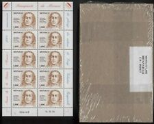 WHOLESALE: 100 KLEINBÖGEN MONACO 1,00 EURO LUIGI VALENTINO BRUGNATELLI (1761-181