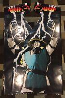 Mortal Kombat 2 Arcade Side Art Artwork MK2 MKII Decal Overlay CPO Midway