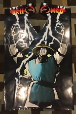 Mortal Kombat 2 Arcade Side Art Artwork MK2 MKII Decal Overlay CPO Midway