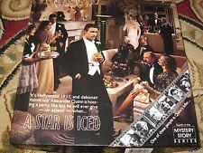 """1987 Springbok Hallmark Vintage Jigsaw Puzzle 500 Pc """"A Star Is Iced"""" Mystery"""