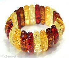 Rare Asian Genuine Tibetan Amber Bracelet Bangle