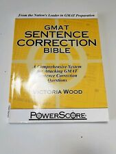 Powerscore GMAT Sentence Correction Bible 2010