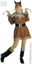 COSTUME DEGUISEMENT ADULTE FEMME Vicking GAULOIS T.M VIKING COMPLET 3978 PROMO