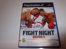 PLAYSTATION 2 ps2 Fight Night Round 3