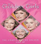 THE GOLDEN GIRLS COMPLETE 3RD SEASON 3 (3-DISC DVD SET, NEW) 10 % to charity