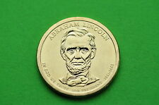 2010-D Bu Mint State (Abraham Lincoln) Us Presidential One Dollar Coin