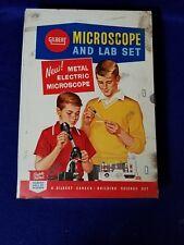 Gilbert Microscope and Lab Set, 1960