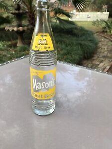 Mason's Root Beer, 10 Fl. Oz. Bottled In Chicago