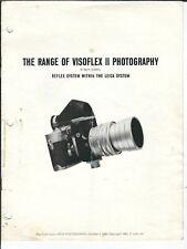 NA-137 Range of Visoflex II Photography, Leica System, 1960, Ralph Carroll