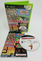 Namco Museum (Microsoft Xbox, 2002) Complete CIB W/ Manual Pac Man Dig Dug