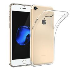 50x Iphone 7 Plus Case Schutz Hülle Silikon TPU transparent durchsichtig