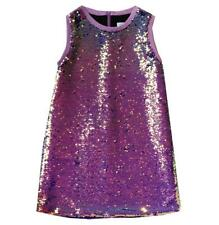 LOLA AND THE BOYS KIDS GIRLS SEQUIN DRESS 5 YEARS
