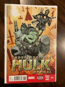 Indestructible Hulk Annual #1 (2014)