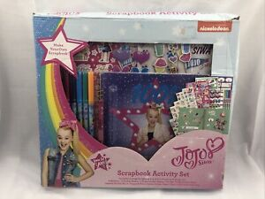 Jojo Siwa Scrapbook Set - Nickelodeon - 650 pcs. FREE SHIPPING