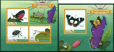 Fauna Butterlies Insects Bugs Schmetterlinge Madagascar MNH stamp set