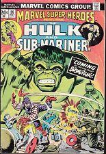 MARVEL SUPER-HEROES #36 1973 VG  HULK/ SUB-MARINER -vs BOOMERANG  STAN LEE