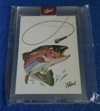 MIKE MIC TROUT TOPPS PROJECT 2020 COMPANION CARD BY NATUREL /900 IN-HAND
