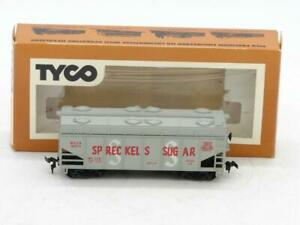 TYCO Trains HO Spreckels Sugar Covered Hopper with Opening Hatches NIB 332B