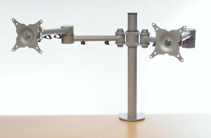 ABL HAFSA Pole Mounted Twin Screen Monitor Arm ABL-FSA2