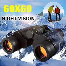 60X60 3000M Portable Compact Binoculars HD Zoom Night Vision Telescope Travel UK