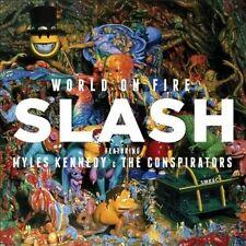 SLASH Feat. MYLES KENNEDY & THE CONSPIRATORS World On Fire CD NEW Guns 'n' Roses