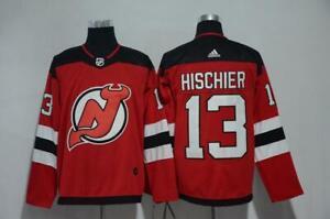 Nico Hischier #13 New Jersey Devils Red Home Hockey Jersey Men's M-3XL