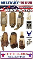 2 Military MOLLE II Single 40mm Pouch / Double 9mm Mag Pouch Tool Gerber Pouch