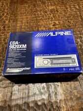Brand New! Alpine Cda-9820Xm Cd/Mp3 Car Stereo Receiver with Bass Engine