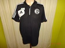 FC Schalke 04 Adidas Spieler Champions League Herren Polo-Hemd 2013/14 Gr.L TOP