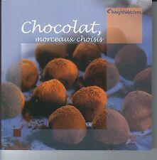 livre de recette weight watchers - Chocolat, morceaux choisis -  ProPoints