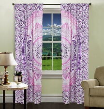 Indian Cotton Mandala Tapestry Curtain Wall Hanging Window Door Valances Cover