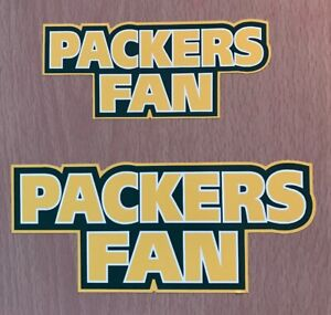 NFL Green Bay Packers Sticker Decal - NFC North Super Bowl Fantasy Football Team